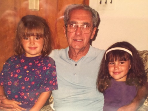 Grandpop and Amanda and Aubs.JPG