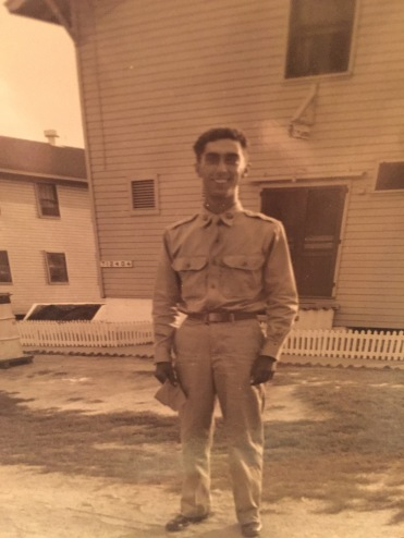 Grandpop in the army.JPG