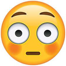 Flushed Emoji