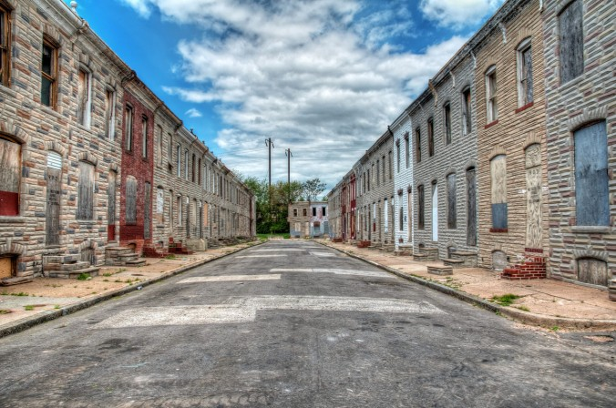 Row Houses Baltimore
